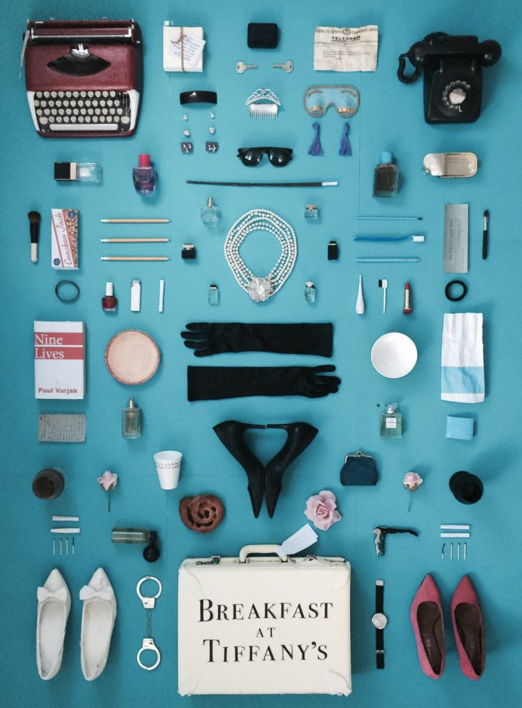 breakfast-at-tiffany-collage-art-poster