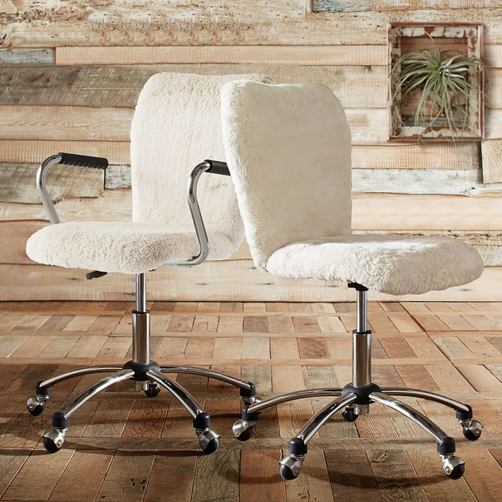 ivory-sherpa-faux-fur-airgo-chair