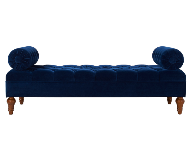 navy-velvet-tufted-bolster-bench-day-bed