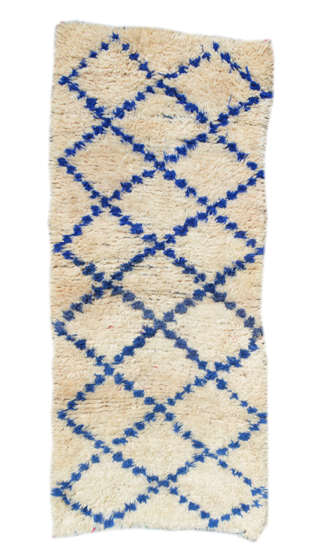 vintage-blue-and-white-moroccan-rug-beni-ourain-etsy