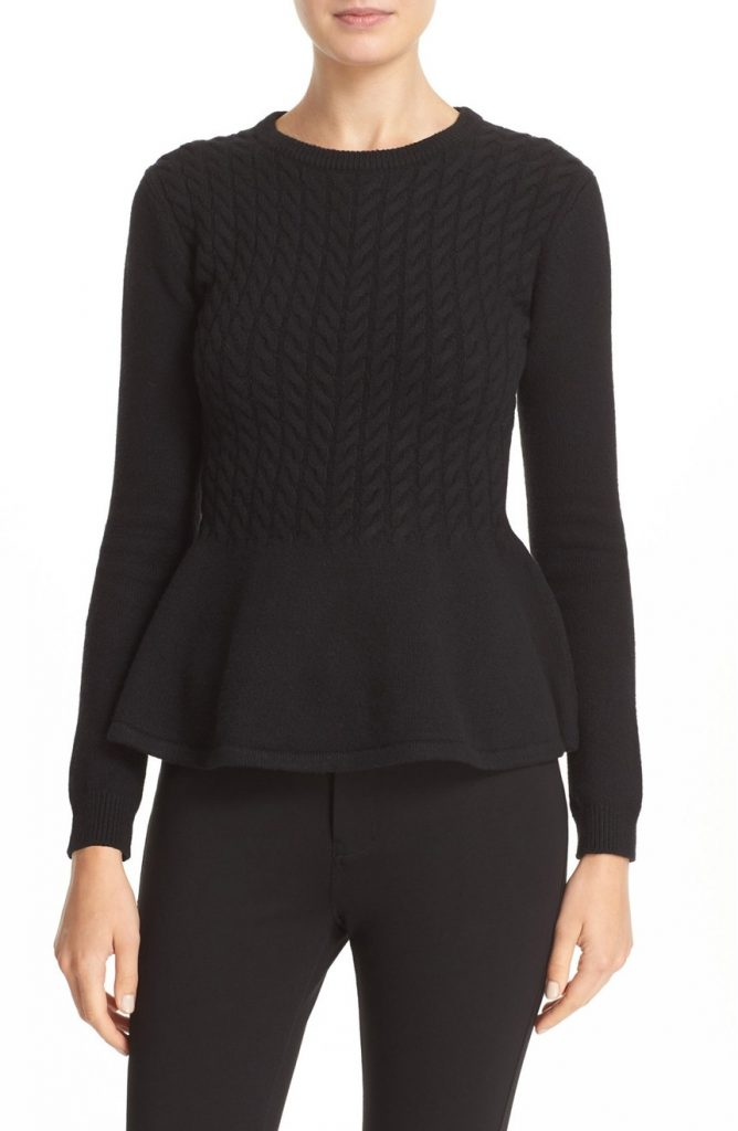 cable-knit-peplum-sweater-ted-baker