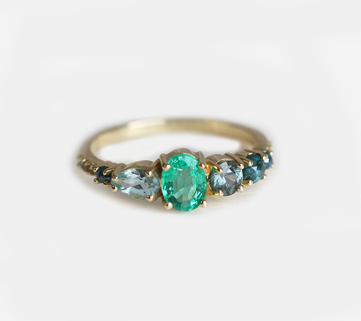 emerald-cluster-ring-etsy-engagement