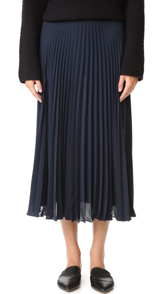vince-pleated-skirt-navy
