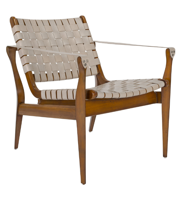 woven-strap-seat-mid-century-style-chair-wood-leather