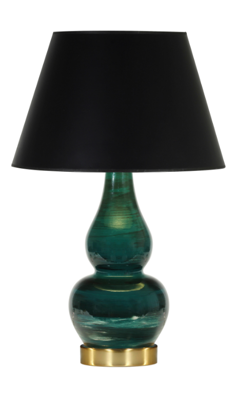 green-double-gourd-table-lamp
