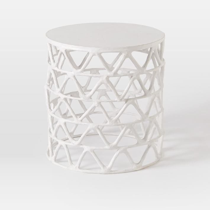 papier-mache-zig-zag-drum-side-table