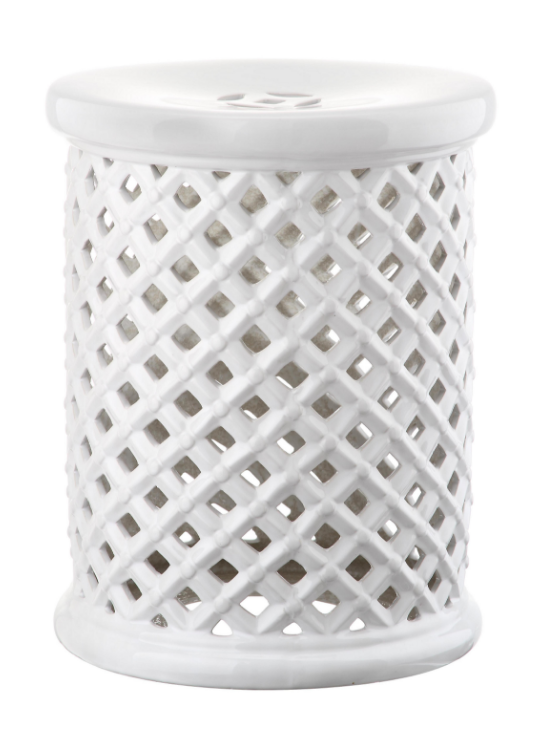 Silver Ceramic Garden Stool The Daily Hunt The Neo Trad