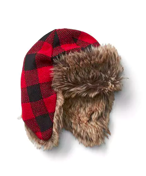 buffalo-plaid-trapper-hat-boys