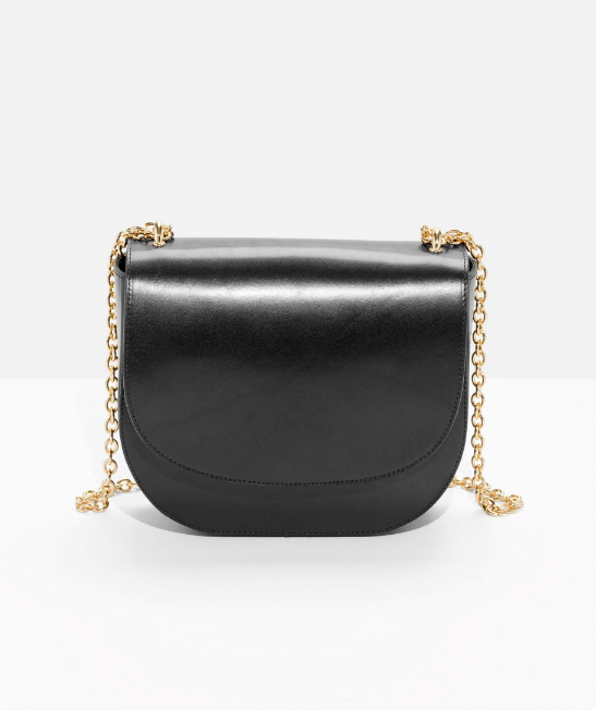 chained-leather-saddle-bag