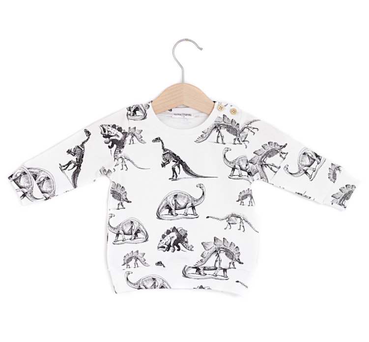 dinosaur-long-sleeved-baby-tee