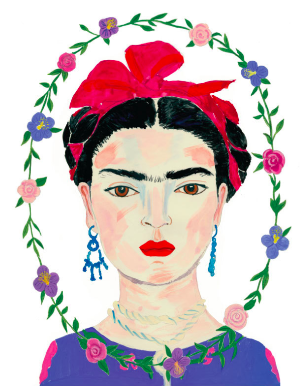 frida-kahlo-art-print-painting-portrait