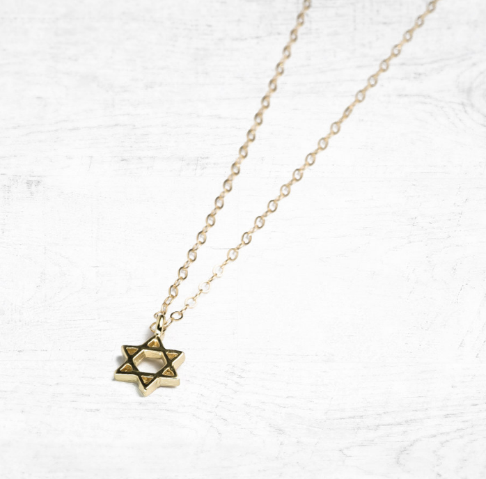 gold-plated-star-of-david-charm-necklace