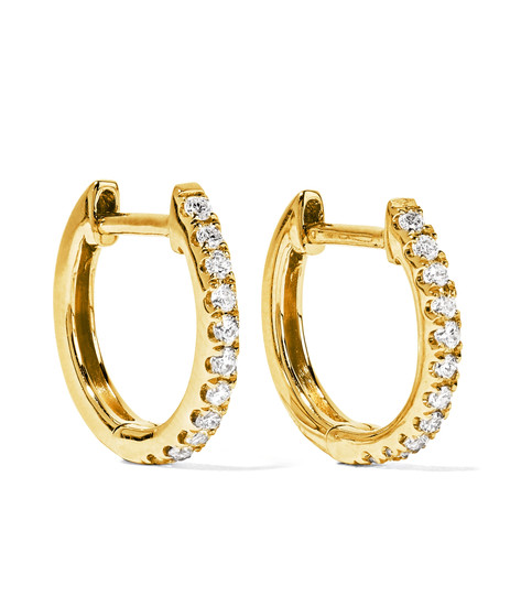 huggie-gold-diamond-earrings-tiny-hoops