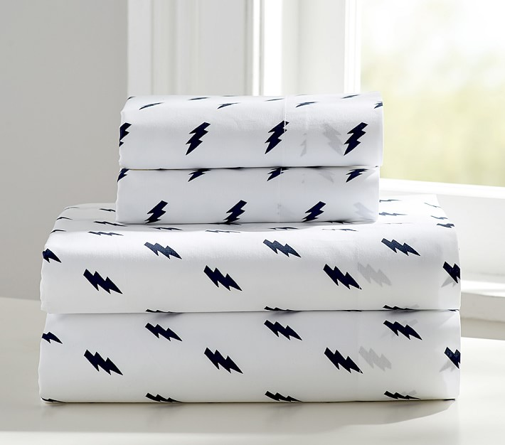 lightening-bolt-sheet-set-bedding-kids-organic