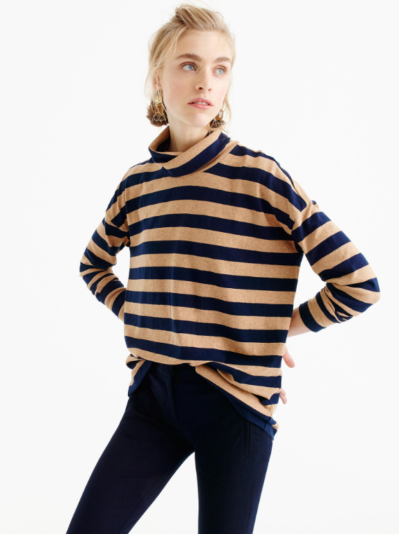 oversized-striped-turtleneck