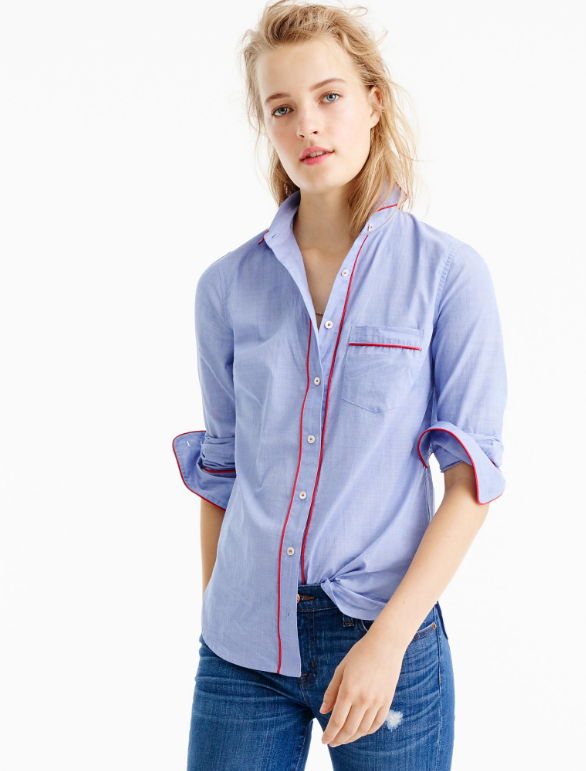 pajama-shirt-with-piping