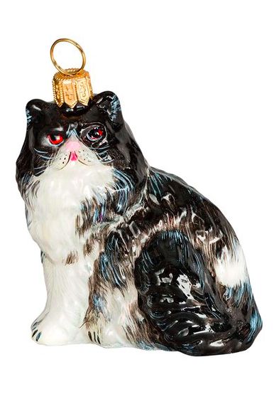 persian-cat-glass-ornament