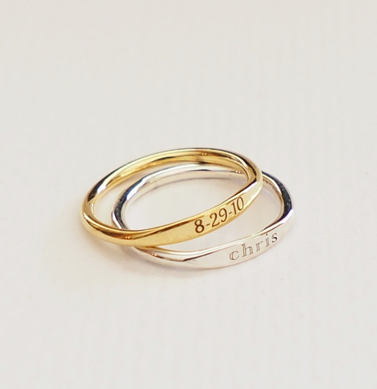 personalized-gold-silver-ring