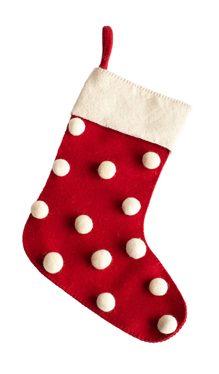 polka-dot-stocking