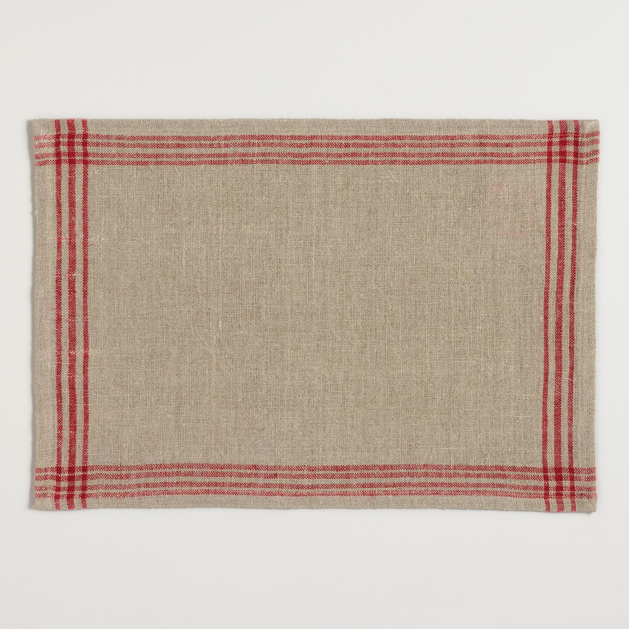 red-stripe-linen-placemats