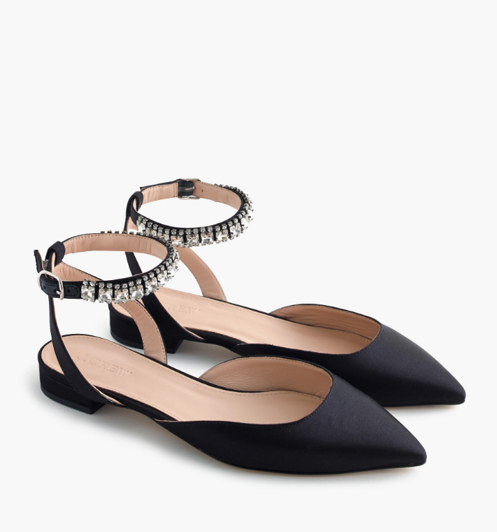 satin-jewelled-ankle-strap-flat