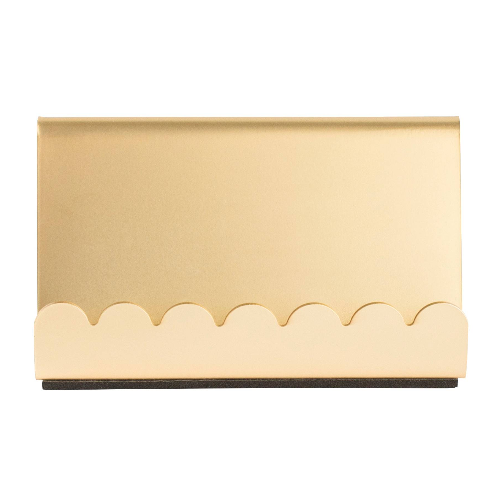 scalloped-business-card-holder-gold