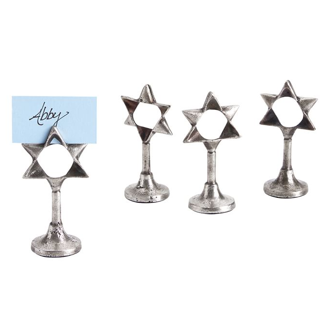 star-of-david-place-card-holder
