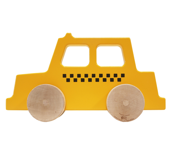 taxi-push-toy