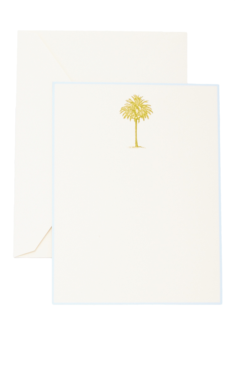 the-printery-green-palm-tree-boxed-note-cards