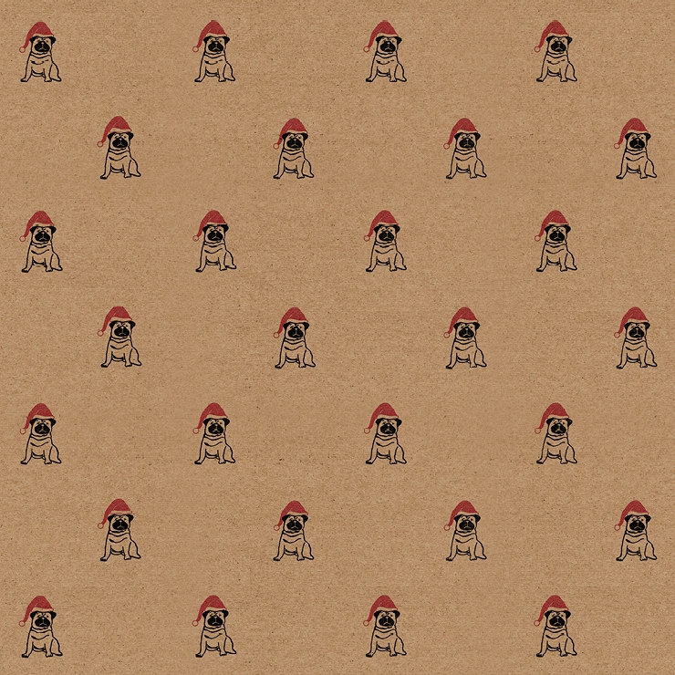 christmas-pug-wrapping-paper