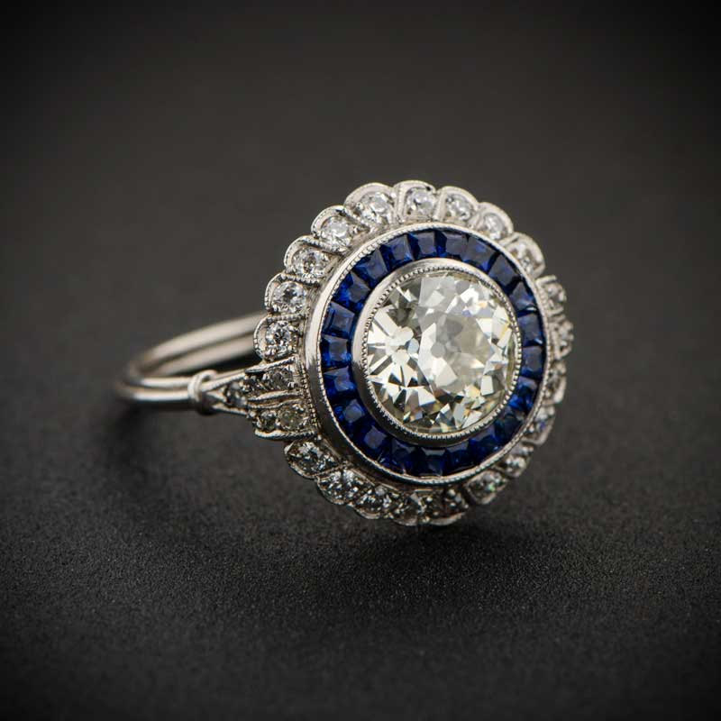 Best of Etsy: Antique and Vintage Diamond Rings