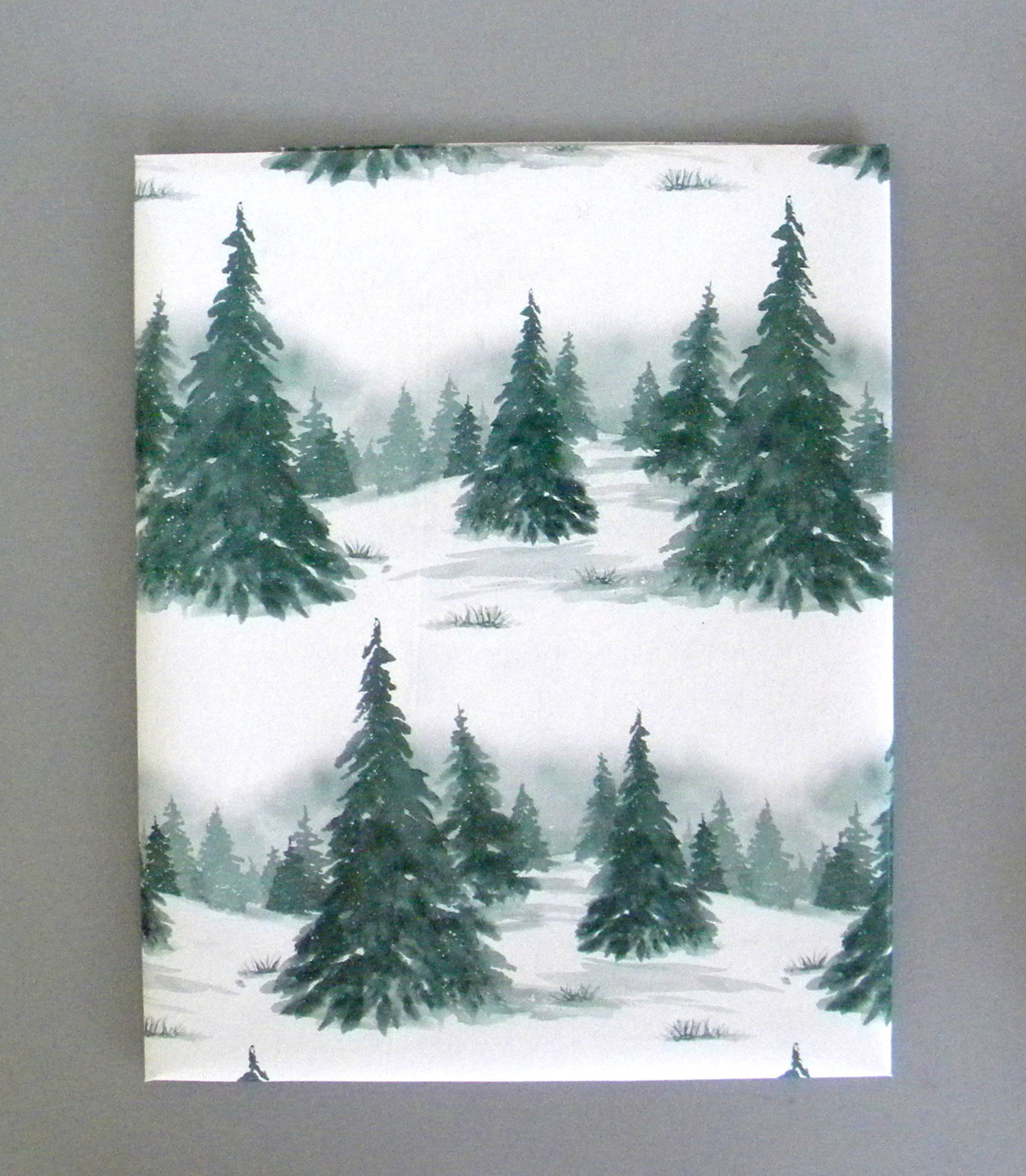evergreen-forest-christmas-wrapping-paper-gift