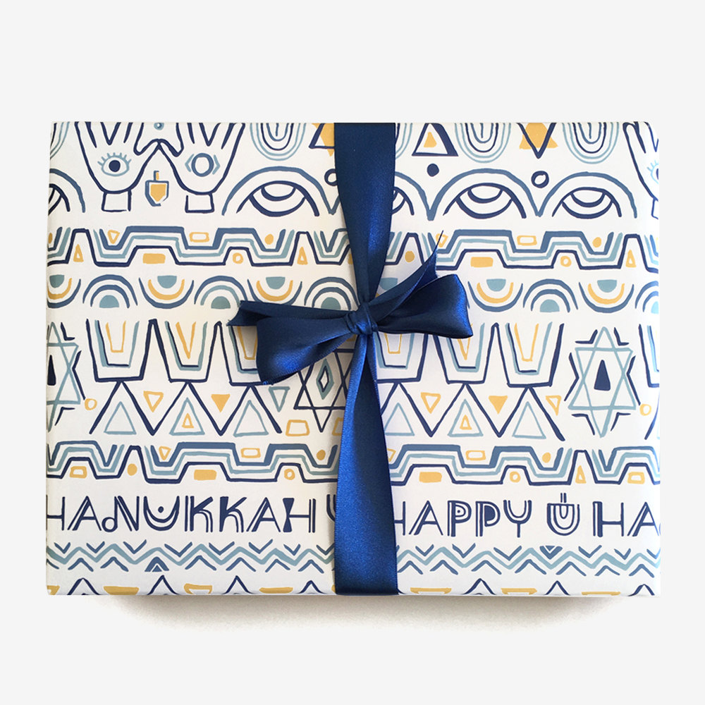 happy-hanukkah-gift-wrapping-paper