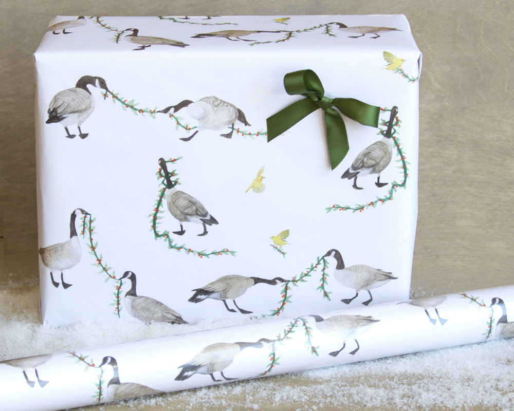 holiday-geese-wrapping-paper-gift