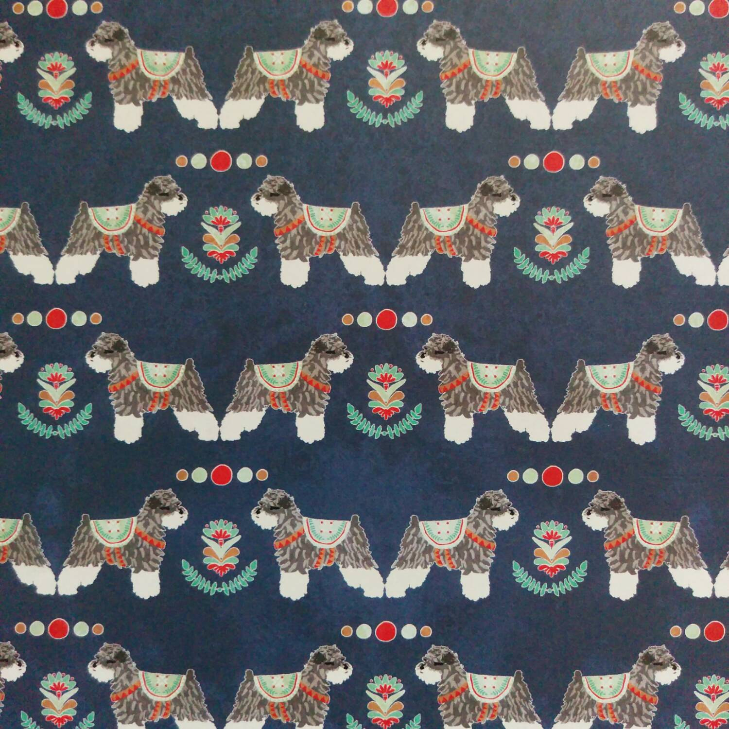 nordic-schnauzer-christmas-wrapping-paper