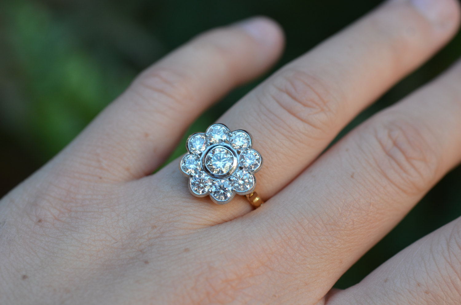 Best Of Etsy Antique And Vintage Diamond Rings Katie