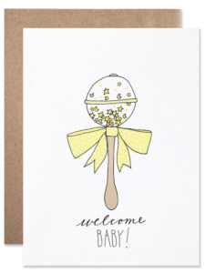 The Best Welcome Baby Cards on Etsy