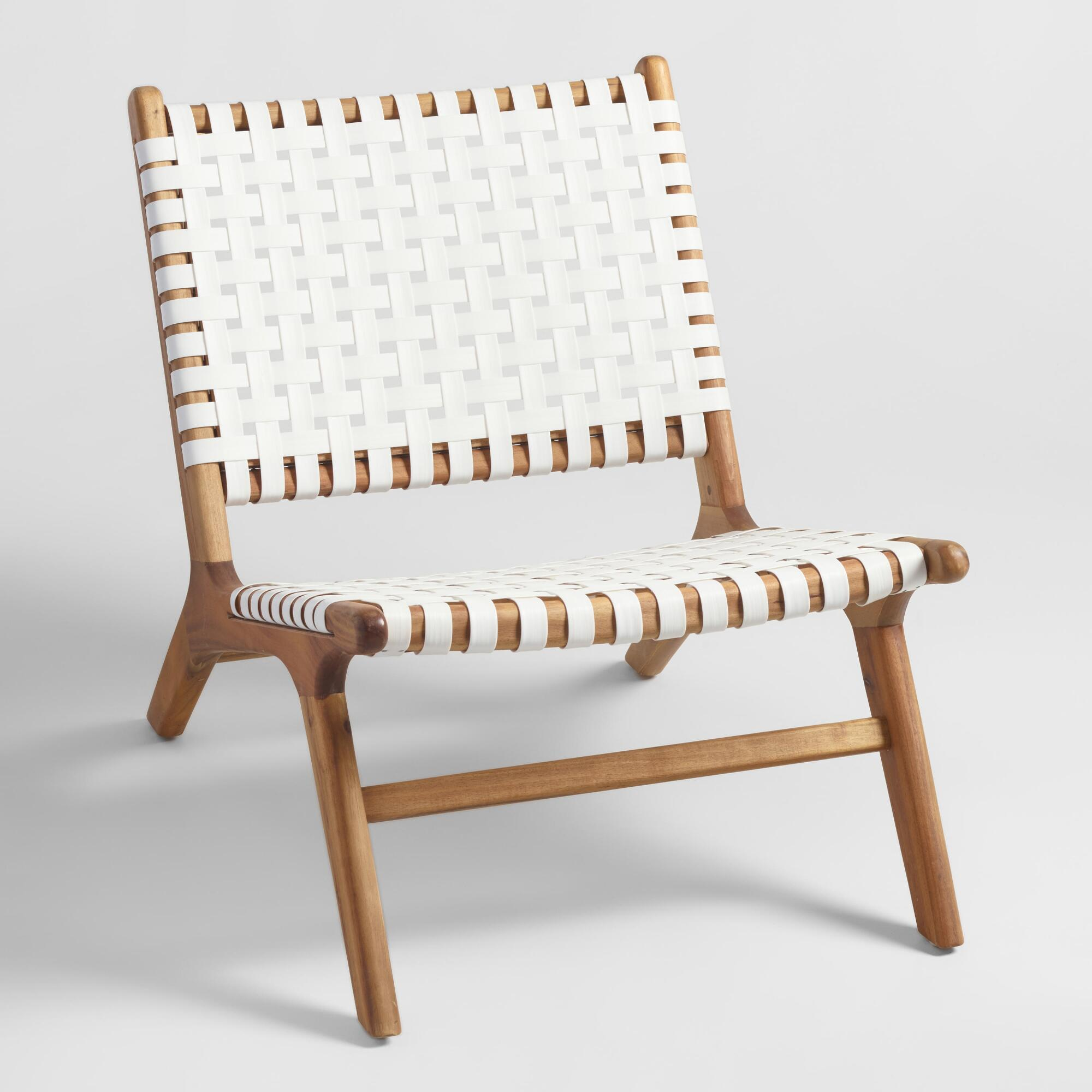 Peachy White Strap Wood Accent Chairs Katie Considers Gamerscity Chair Design For Home Gamerscityorg