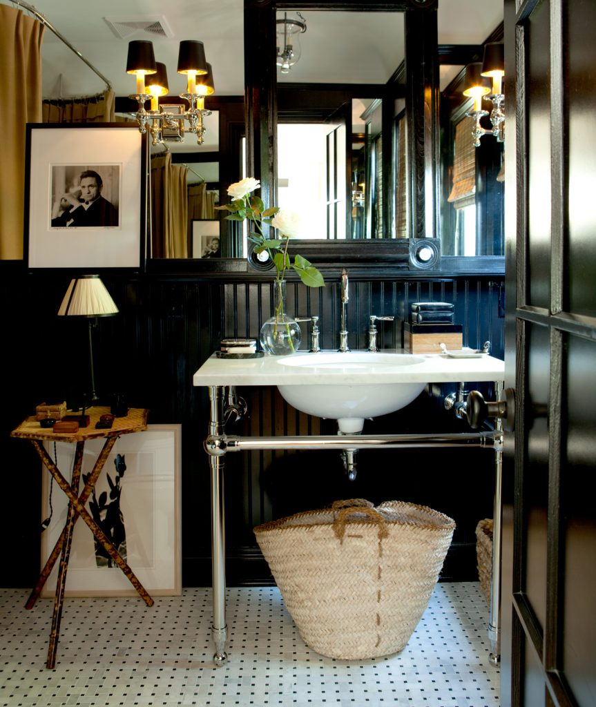 Hollywood Lights Bathroom: Design Crush: Mark D. Sikes
