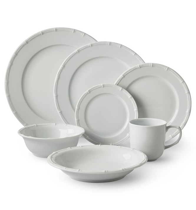 bamboo-dinnerware-plates-white  sc 1 st  The Neo-Trad & bamboo-dinnerware-plates-white - The Neo-Trad