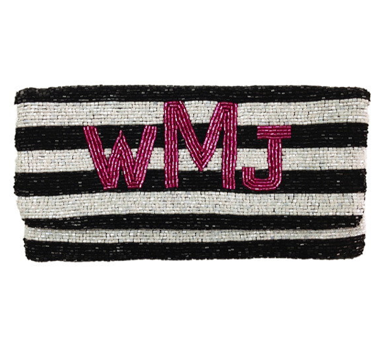 Best of Etsy: The Monogram Beaded Clutch