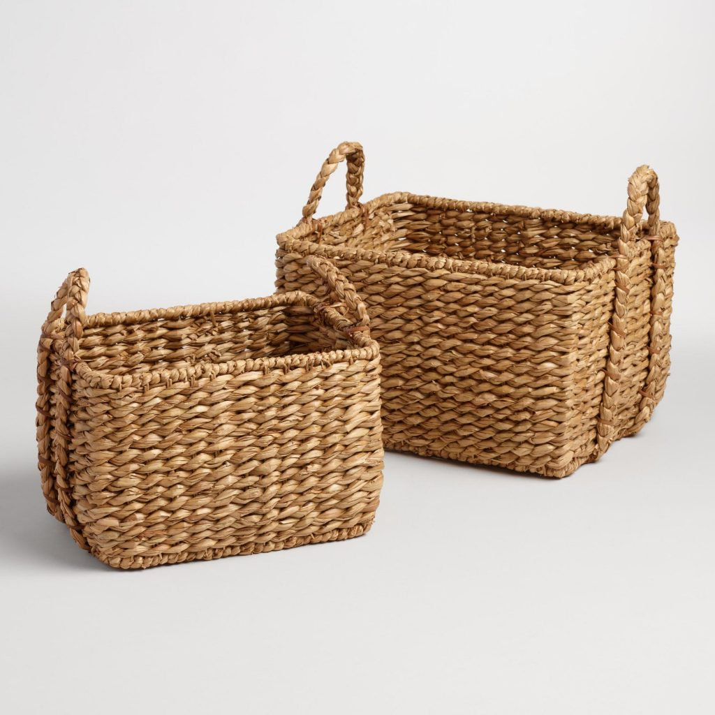 How To Weave A Cane Basket : My top picks from world market all off the neo trad