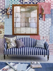 John Robshaw Launches Wallpaper