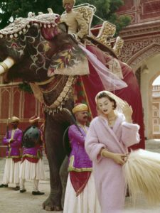 Norman Parkinson in India