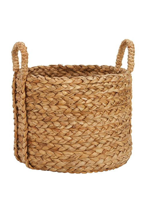 Pottery Barn Beachcomber Basket Woven Extra Large Log Fireside Fireplace