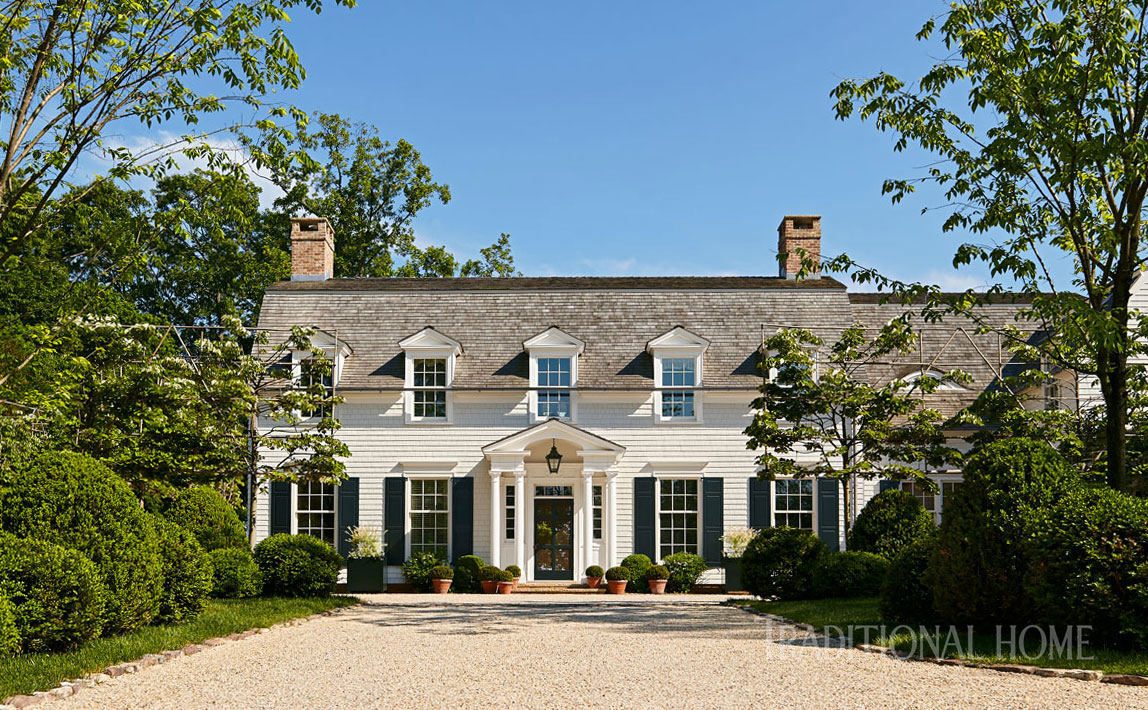 Dutch Colonial Home by Gil Schafer