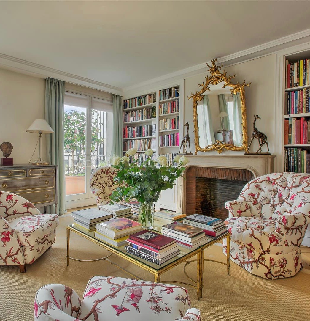 Lee Radziwill's Paris Apartment is For Sale - Katie Considers
