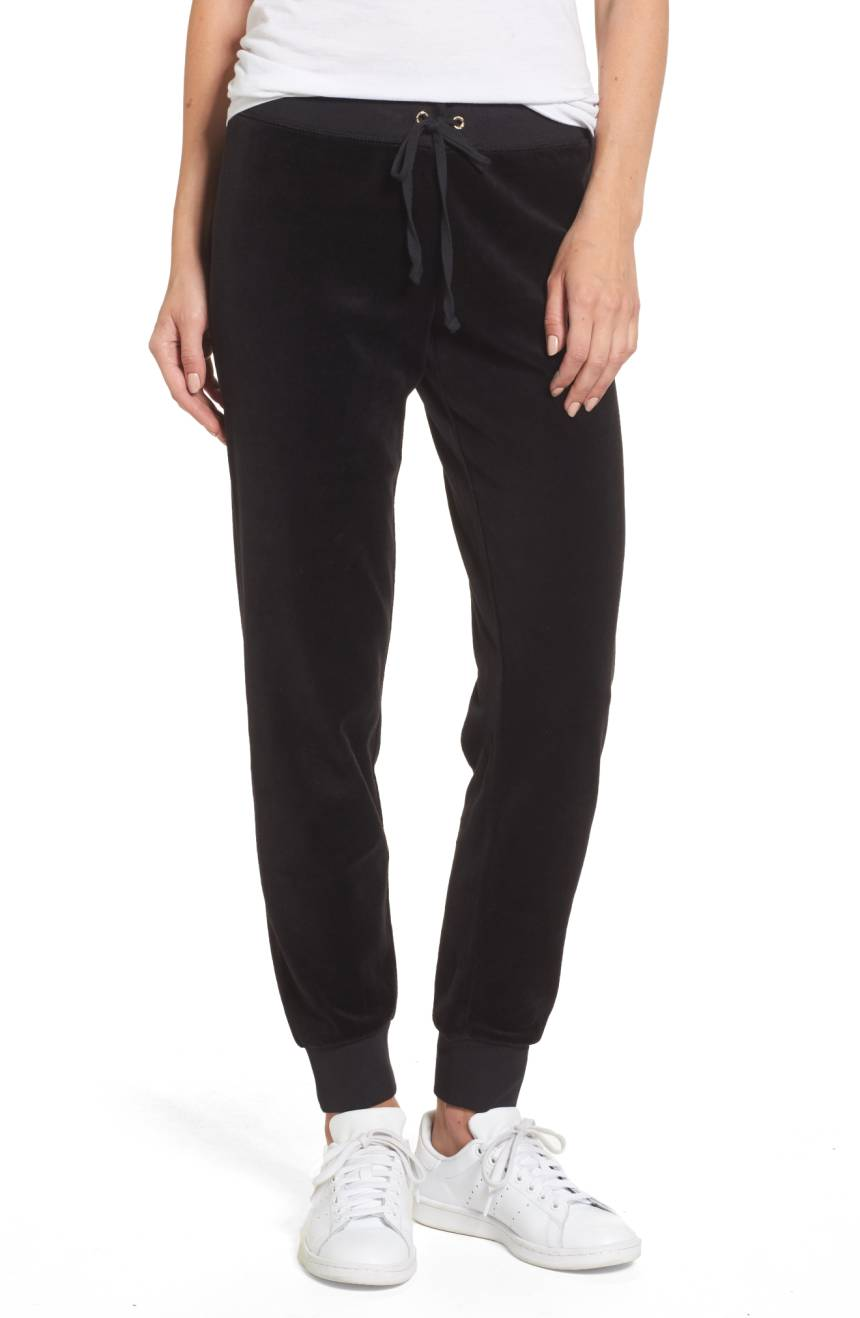 Juicy Couture Velour Track Pants Katie Considers