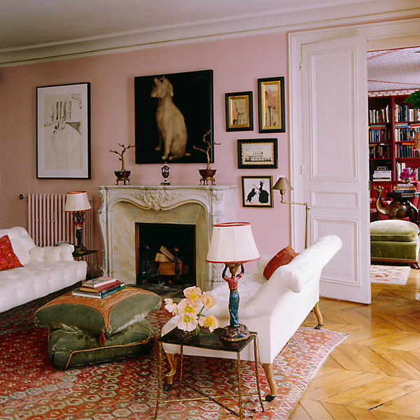 lisa fine 39 s paris apartment the neo trad