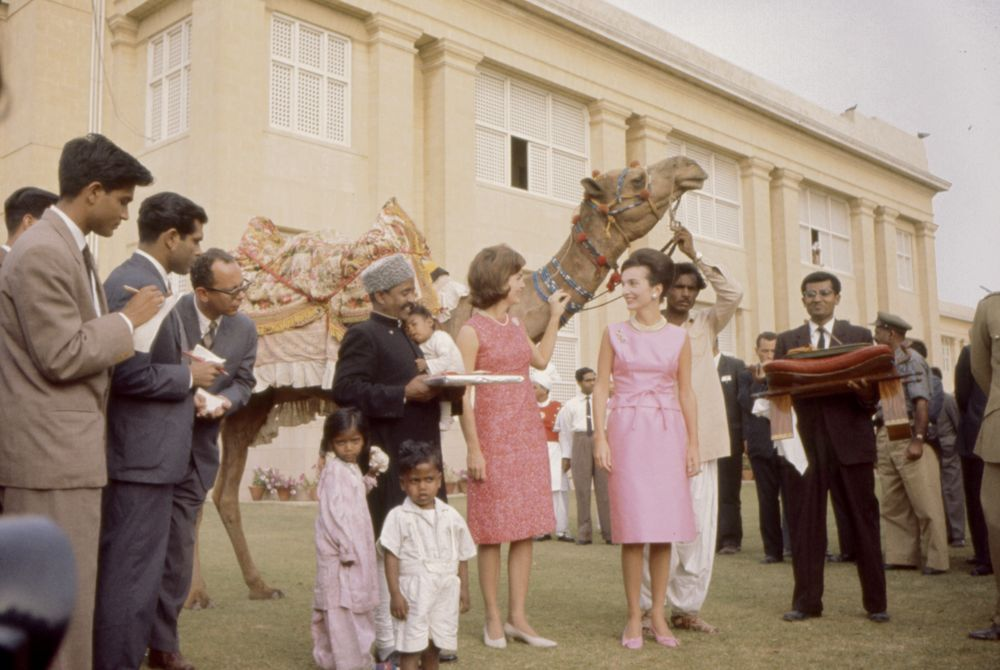 Jackie Kennedy in India and Pakistan
